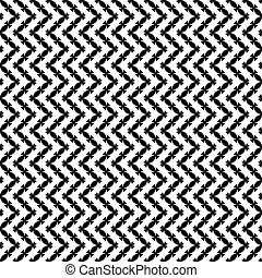 Seamless black-white pattern