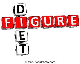 Figure Diet Crossword