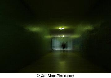 Green underground - Underground passage