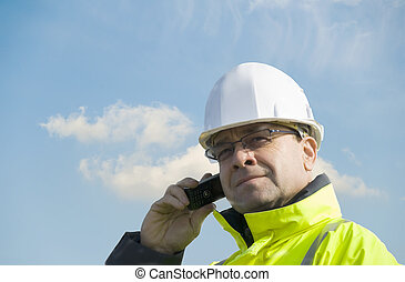 technician - a technician on the phone
