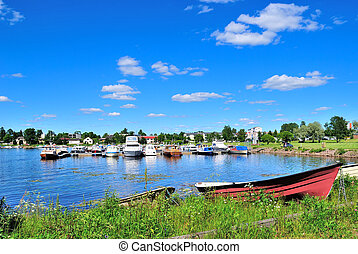 Finland. Haven of Hamina - Finland. Very beautiful and quiet...