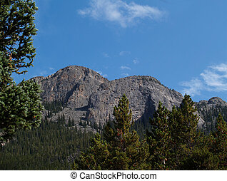 View From Bald Pate Inn just outside of Estes Park,...