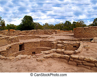 Far View House%u2014Mesa Verde - Ruins of Far View House in...