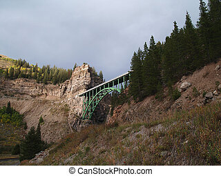Colorado Bridge - Bridge in Colorado Mountains