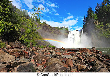Snoqualmie Falls, Washington State - hour drive from Seattle...