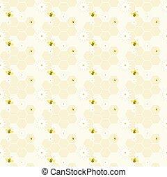 background - honeycomb background
