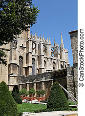 Cathedral St Just and Pasteur of Narbonne, France