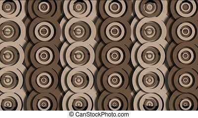 rotation brown circle pattern,cloud,ripple,Eastern classical...