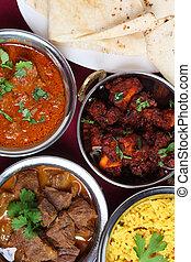 indio, Currys, sobre