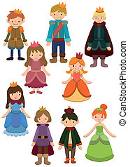 cartoon Prince and Princess icon - cartoon Prince and...