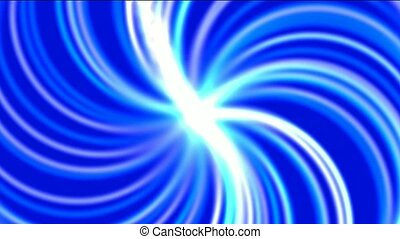 swirl fiber optic and rays light