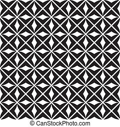 seamless pattern vector - seamless monochrome pattern,...