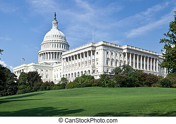 US Capitol Building - The US Capitol Building on a sunny day...