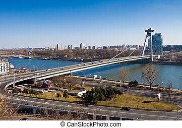 New bridge in Bratislava
