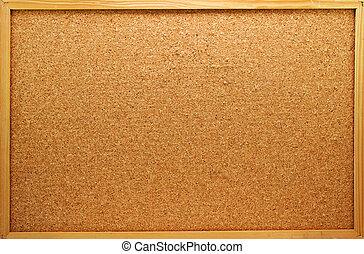 memo board - Empty memo board on white background