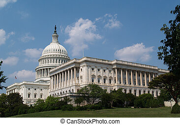 USA Capitol Building - USA capitol building in Washington DC...