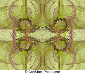 Seamless Background Pattern Green - Seamless background in...