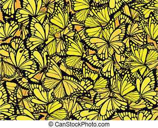 butterflies background - many butterflies background,...