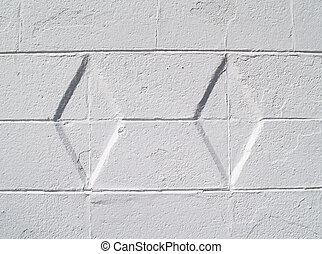 White Diamond Textured Exterior Wal