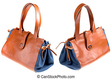 leather lady's bag