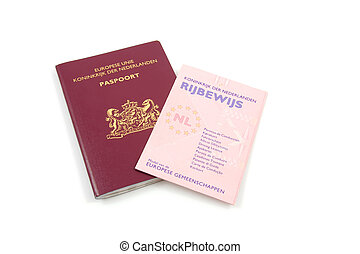 Dutch Drivers licence and passport - Dutch drivers licence...