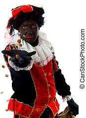 Zwarte Piet ( black pete) typical dutch character - Zwarte...