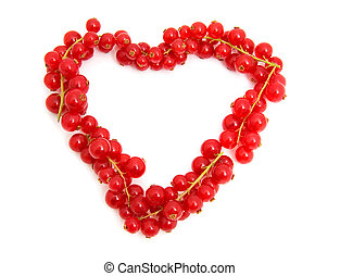 red berries in the shape of hearts - red berries in the...