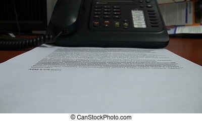 The documents of the phone