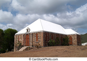 Old Methodist Church in Antigua Bar - Methodist church in...