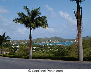 Falmouth Harbour on Antigua Barbuda in the Caribbean Lesser...