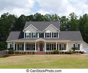 Two Story Residential Home - Two story residential home with...