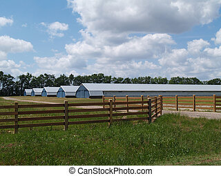Farm or Industrial Type Buildings - Farm buildings found in...