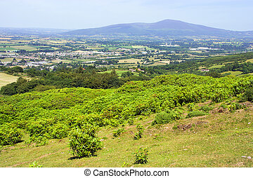 County Tipperary in Ireland - Scenic landscape of County...