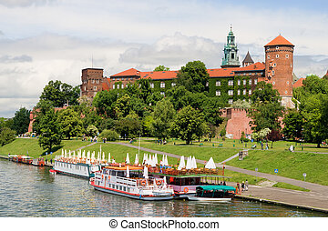 Wawel Royal Castle in Poland - The Wawel Royal Castle in...