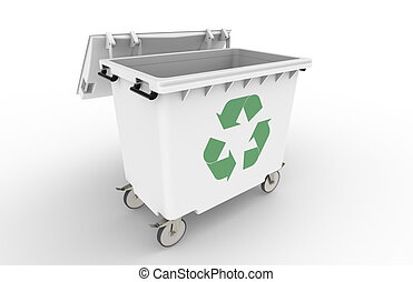 Recycle Bin   - Open recycle bin with Symbol