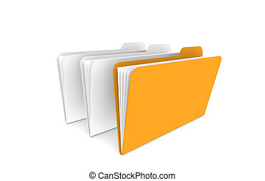 Files, one Orange