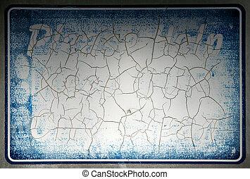 Vintage frame texture background