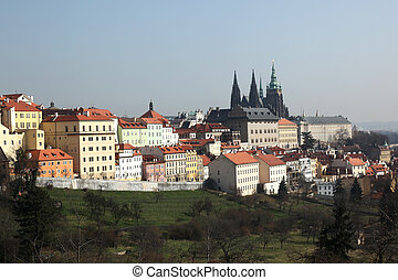 Hradcany Prague - the Hradcany is a district of the city of...
