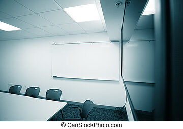 Presentation room - Modern office room interior with big...