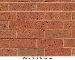 New Brick Red Wall