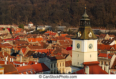 Brasov, Council Square tower, Romania - Brasov, Council...