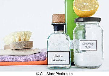 Non-Toxic Cleaning Products - A range of non-toxic cleaning...