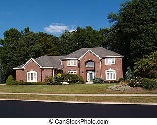 Two Story New Brick Residential Hom