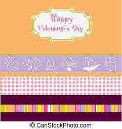 vintage valentine\'s day card