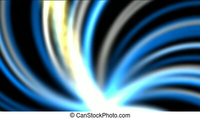 swirl fiber optic launch rays light