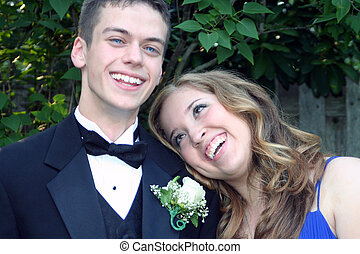 Happy Together Prom Couple