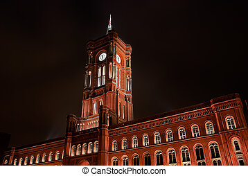 Rotes Rathaus, Berlin - The Red City Hall (German: Rotes...