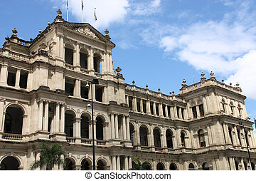 Brisbane - The former Queensland Government Treasury...
