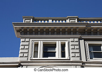Christchurch - Building in Christchurch, New Zealand. Old...