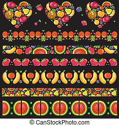 Fruity juicy patterns